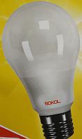 LED лампа A60  7.0W 220В E27 3000К Sokol