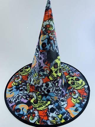 Колпак ведьмы с языческими черепами, фото 2