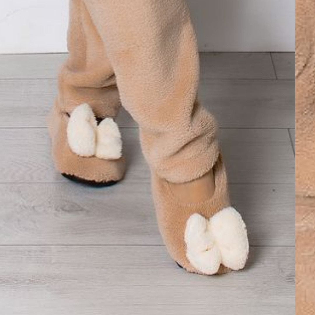 Домашние теплые балетки тапочки женские