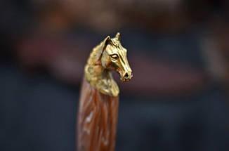 """Нож ручной работы """"Crazy horse"""", N690, фото 2"""