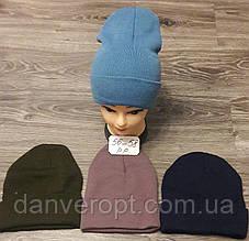 Шапка молодежная бесшовная стильная размер 56-58 см купить оптом со склада 7 км Одесса