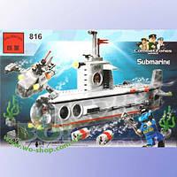 """Конструктор Brick 816 """"Подводная лодка"""" (382 детали)"""