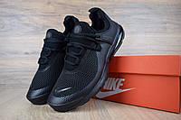 Мужские кроссовки в стиле Nike Air Presto Leew 2019, сетка, черные 44 (28 см)