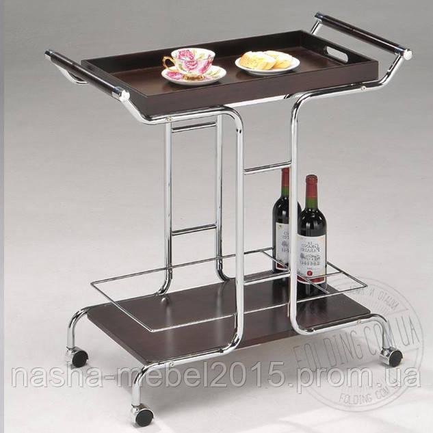 Сервировочный столик со съемным подносом W-10