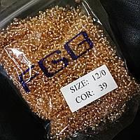 Бисер калиброванный  № 39 (Н)  (50гр)
