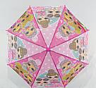Детский зонт трость для девочек LoL, фото 3