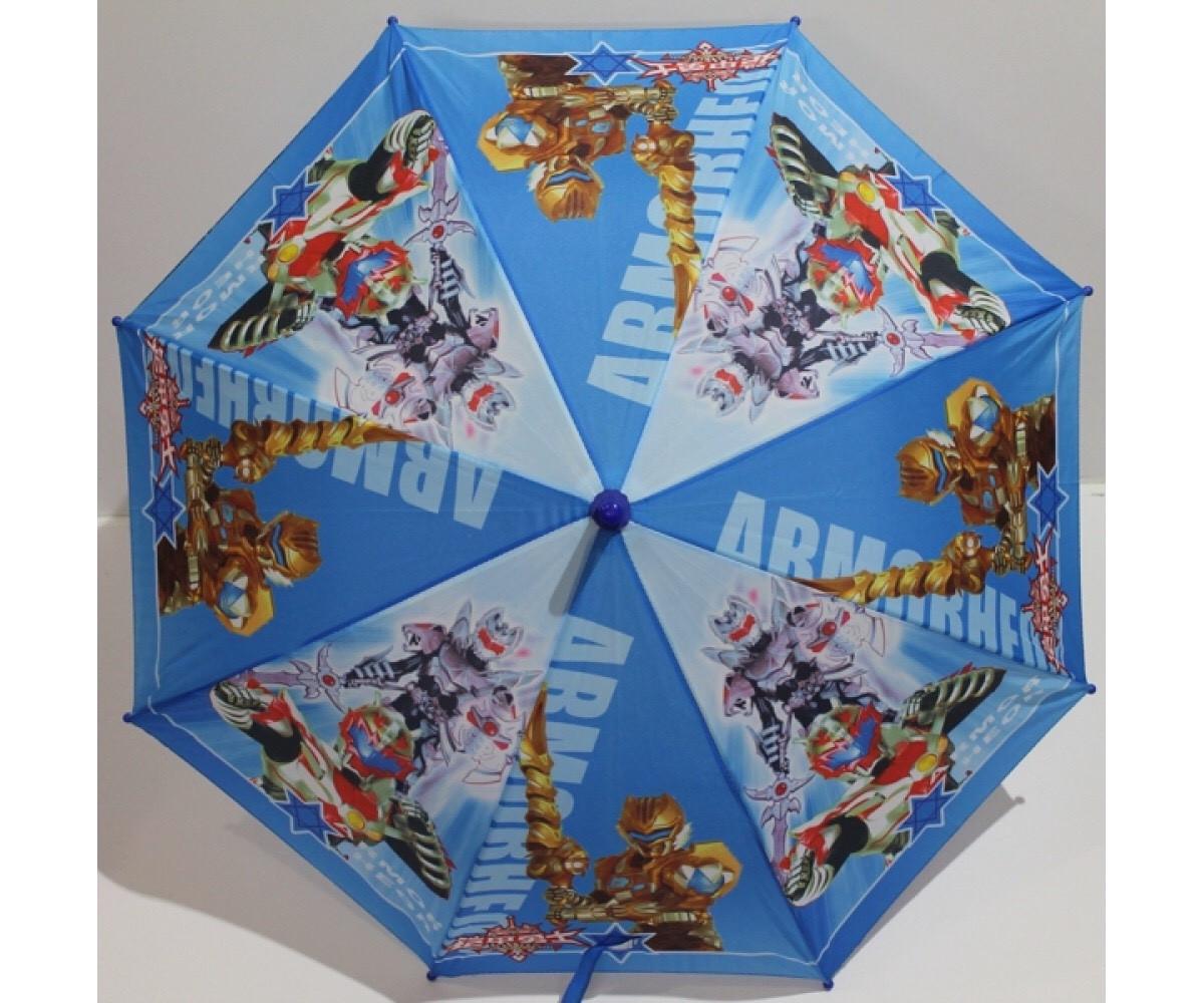 Детский зонт трость для мальчиков с мультяшными героями Трансформеры
