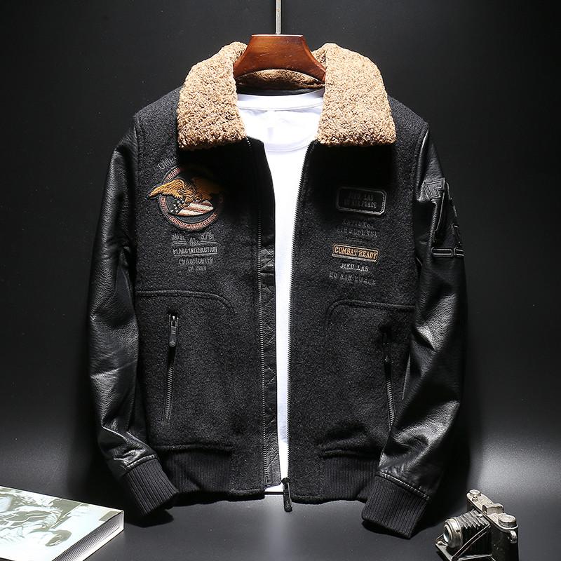 """Куртка мужская бомбер """"Leader"""" (демисезон/еврозима)"""