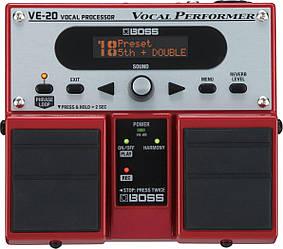 BOSS VE20 Процесор ефектів для вокалу