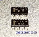 10 штук . HC125 TEXAS SN74HC125DR для CARPROG логіка . Malaysia . Оригінал ., фото 2