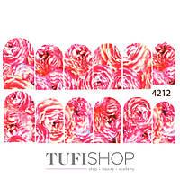 Слайдер дизайн 4212 - цветы