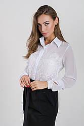 Блузка K&ML 478 белый 44