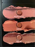 Палетка пробников нюдовых помад M.A.C Matte Lipstick, фото 1