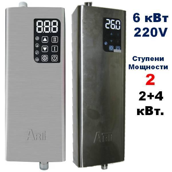 Котёл электрический, ARTI ES, 6кВт 220V