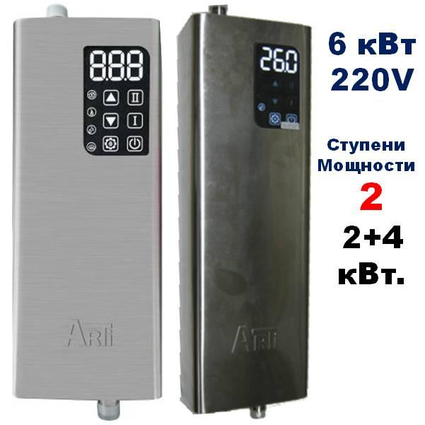 Котёл электрический, ARTI ES, 6кВт 220V, фото 1
