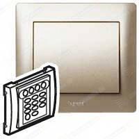 Лицевая панель для локального модуля с FM-тюнером и внутренней связью (арт.775668) Титан Legrand Galea Life (7