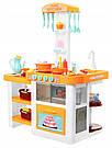Интерактивная большая кухня Kitchen с посудой, продуктами, водой, звуком и светом, фото 4