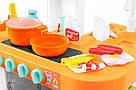 Интерактивная большая кухня Kitchen с посудой, продуктами, водой, звуком и светом, фото 5