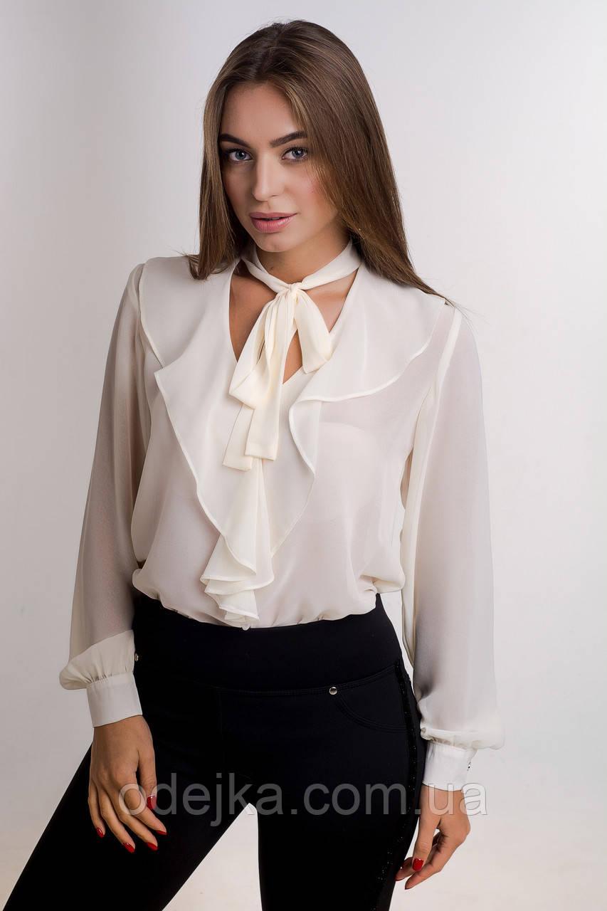 Блуза K&ML 484 бежевый 44