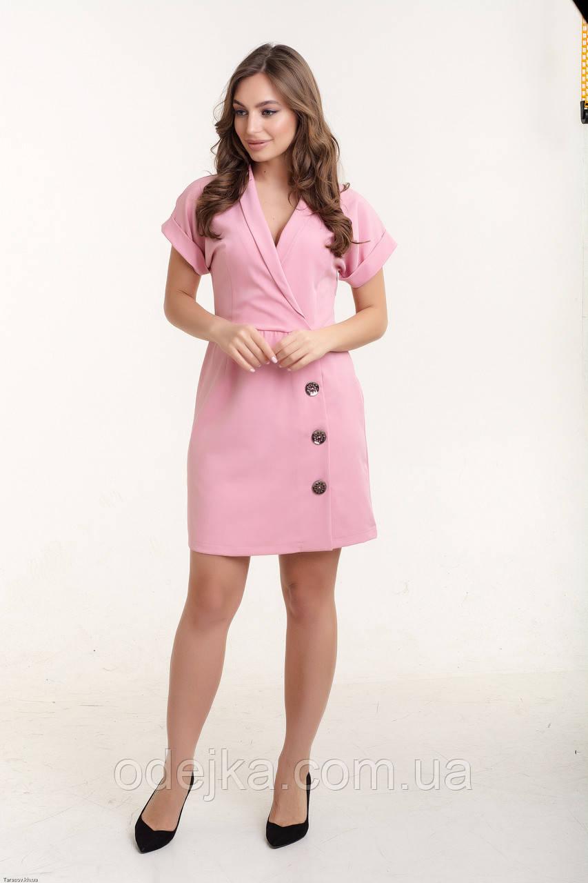 Платье K&ML 518 розовый 48