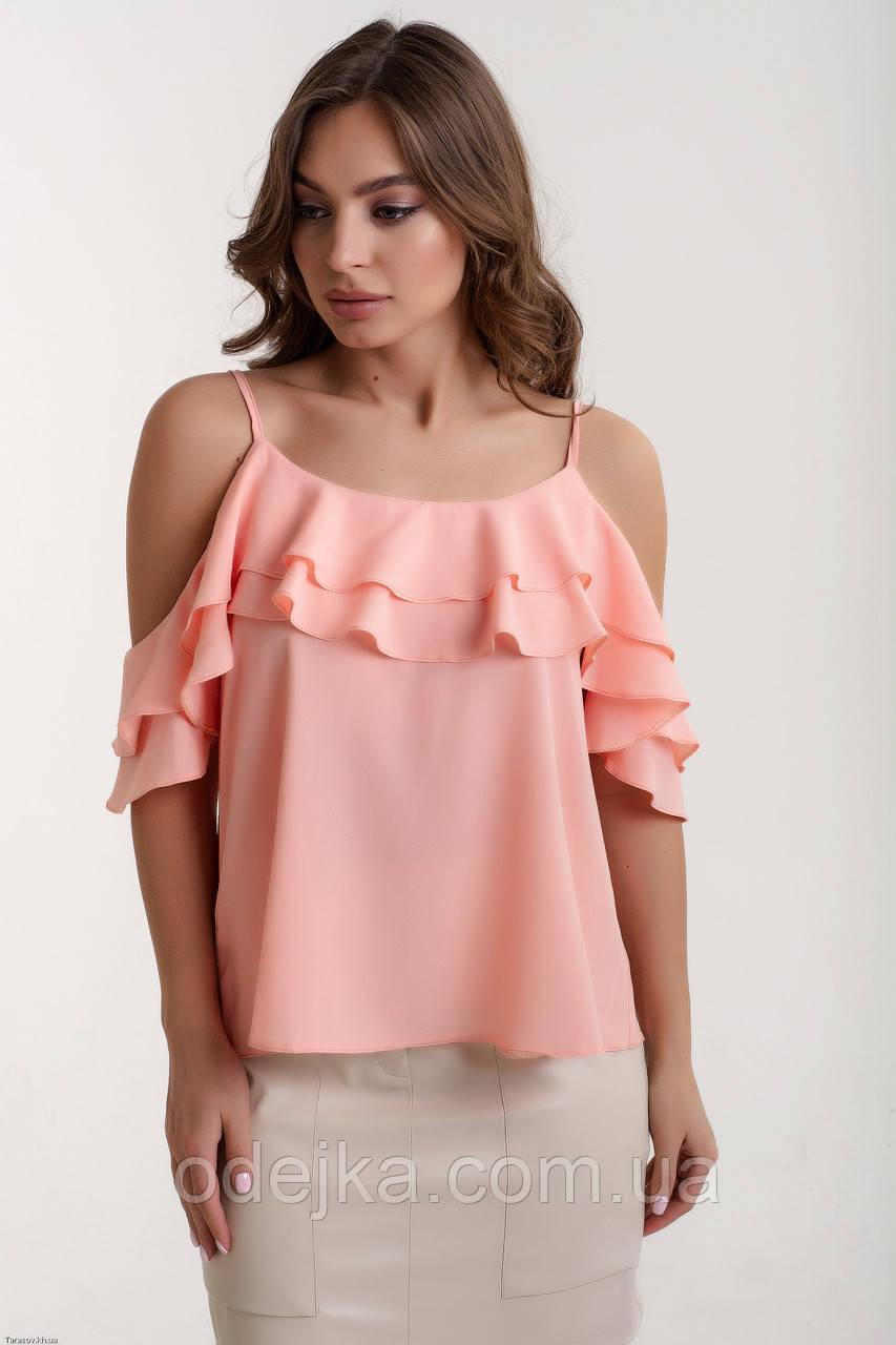 Блузка K&ML 451 рожевий 44