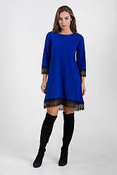 Сукня K&ML 433 синій 44