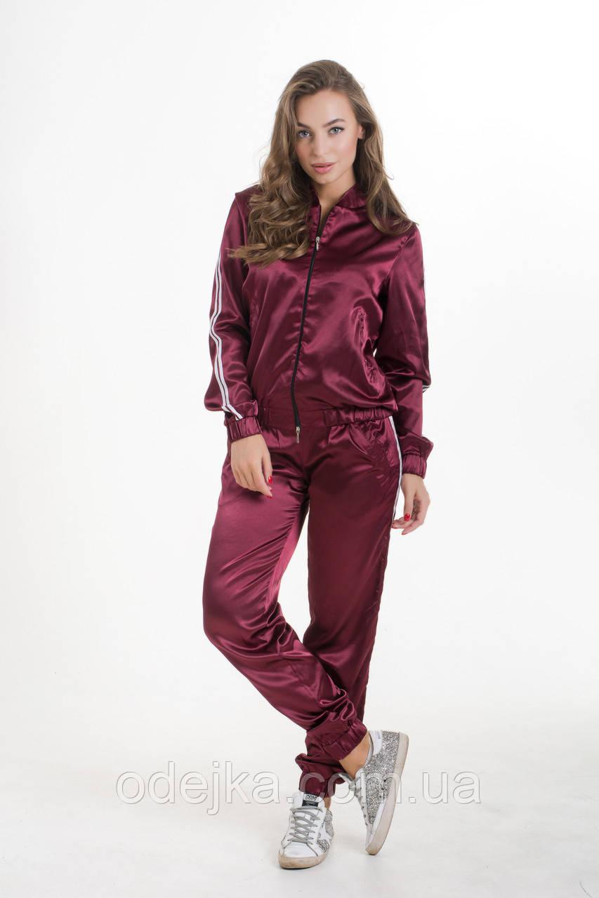 Спортивный костюм  K&ML 461 бордовый 42 - 44