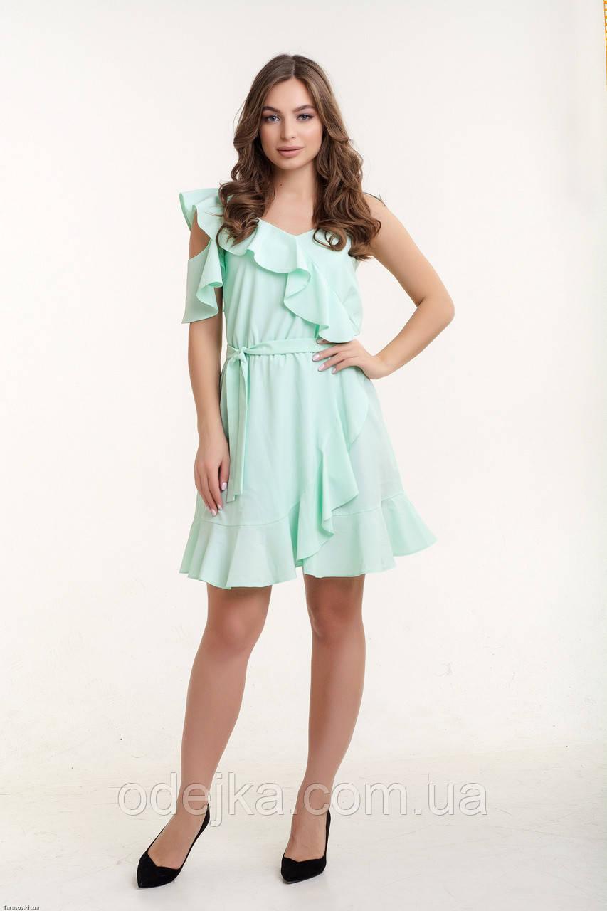 Платье K&ML 494 мятный 44