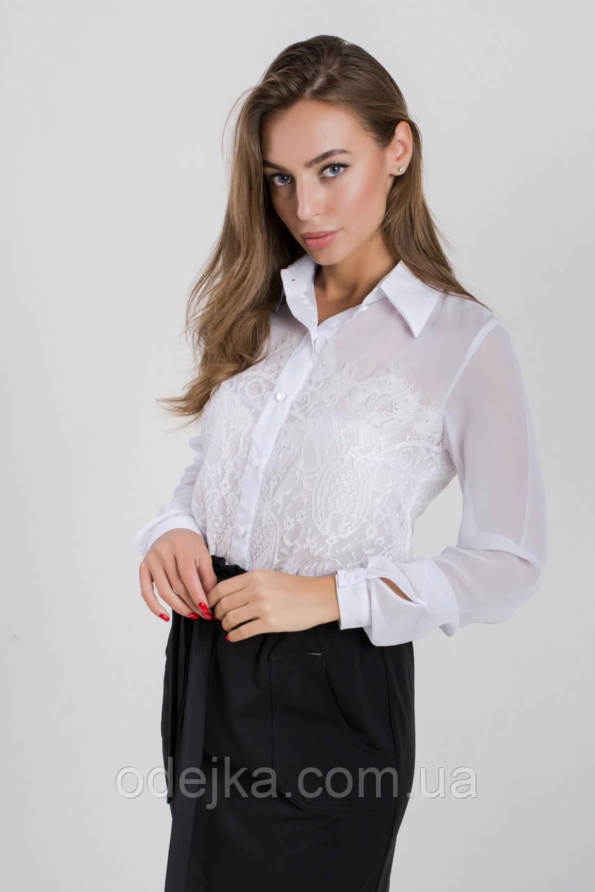 Блузка K&ML 478 белый 48