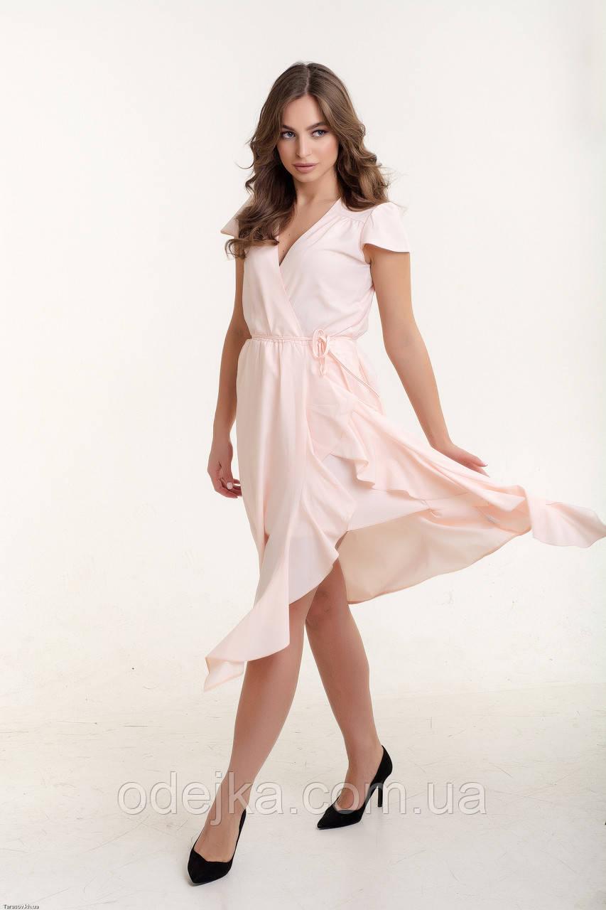 Платье K&ML 493 розовый 46