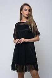 Сукня K&ML 506 чорний 46 - 48
