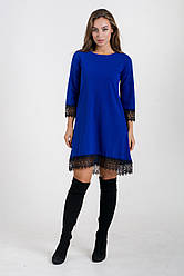 Сукня K&ML 433 синій 48