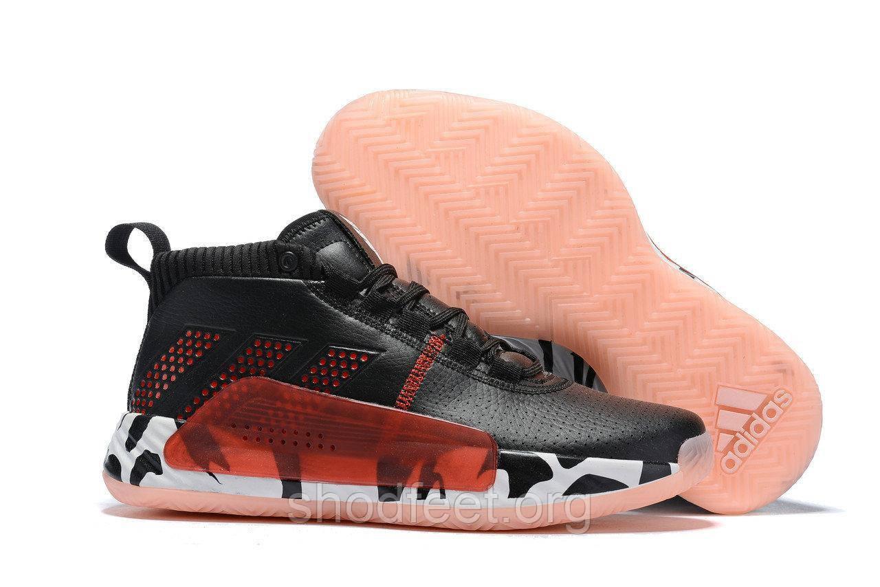 Баскетбольные кроссовки Adidas Dame 5 Bred