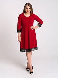 Платье K&ML 505  красный 50