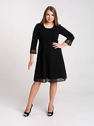 Платье K&ML 505  черный 50