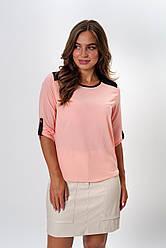 Блузка K&ML 314 розовый 48