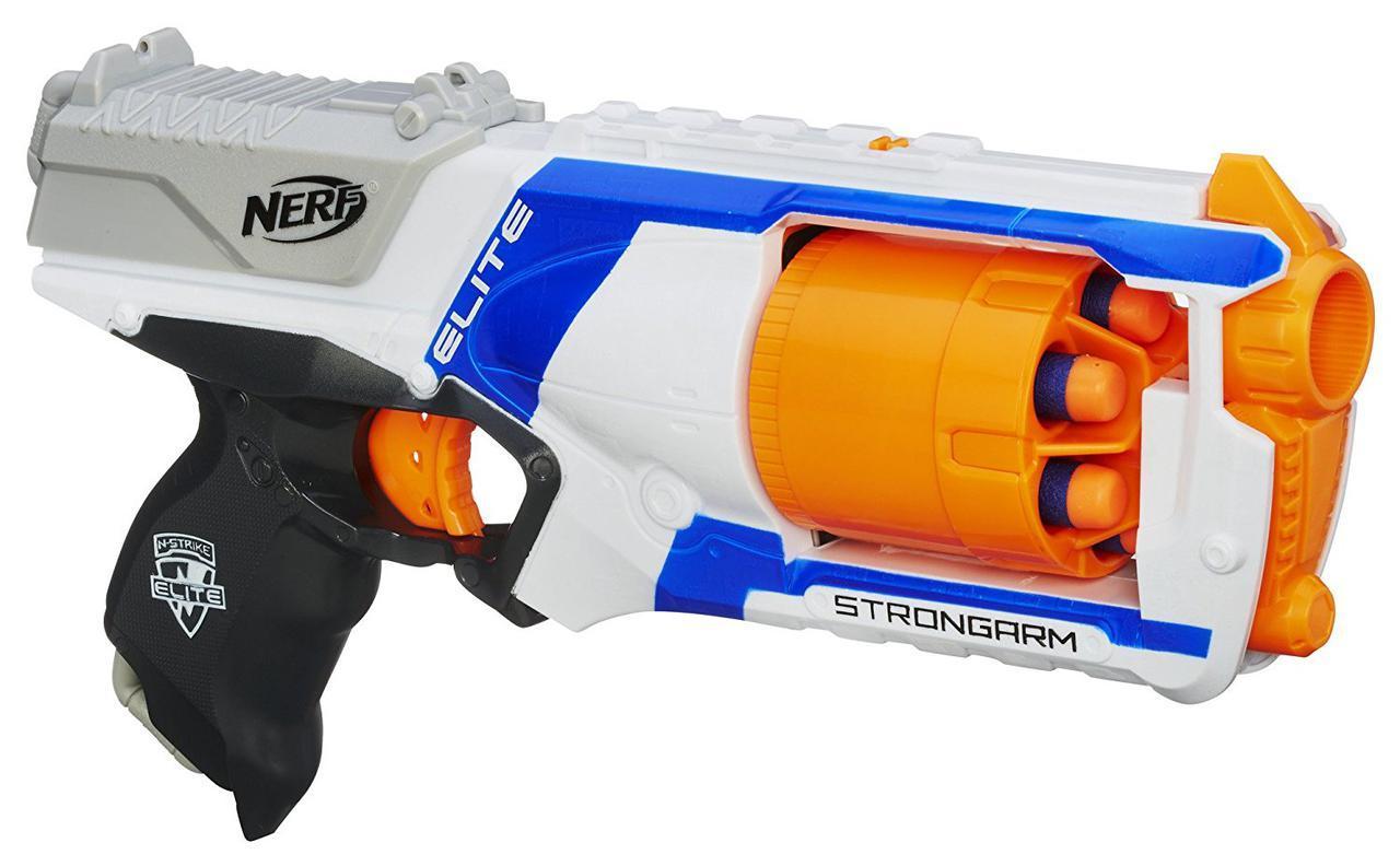Бластер Нерф Элит Стронгарм Nerf N-Strike Elite Strongarm Blaster Эконом упаковка