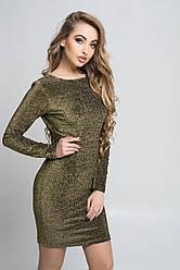 Сукня K&ML508 золотистий 46