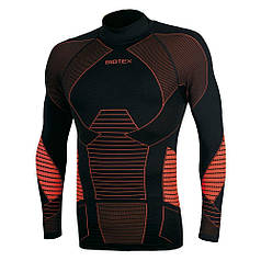 Термореглан Biotex Lupetto Icebreak Warm XL/XXL черный/оранжевый