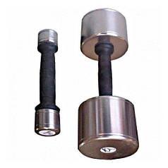 Гантель InterAtletika пластик/хром 0,5 кг
