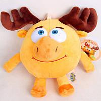 Мягкая игрушка Лосяш из Смешариков 30 см