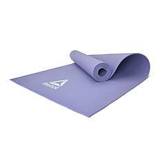 Мат для йоги Reebok RAYG-11022PL фиолетовый