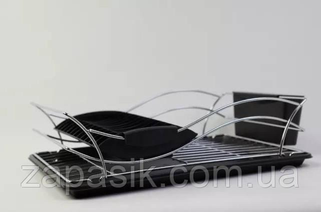 Одноуровневая Хромированная Сушилка Для Посуды Металл ZURRICHBERG ZBP 7111