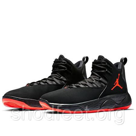 Кроссовки Air Jordan Super.Fly MVP Black/Infrared