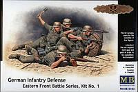 1:35 Немецкая пехота в обороне, Master Box 35102;[UA]:1:35 Немецкая пехота в обороне, Master Box 35102