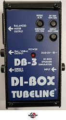 TUBELINE DB3 DI-BOX Speacer Simulator Педаль для электрогитары