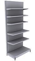 Новые торговые стеллажи с металлическими полками WIKO для магазина. Торговое оборудование в наличии, фото 1