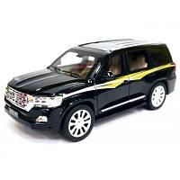 Игрушка детская коллекционная Машинка 7 Toys Модели металлическая, чёрная, внедрожник