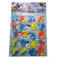 Игрушка детская Самолет-запускалка на планшете (20шт) цена за планшет 00-154