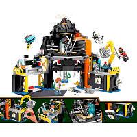 Детский Конструктор Дом-вулкан Гармадона серия Герои ниндзя JVToy 16007